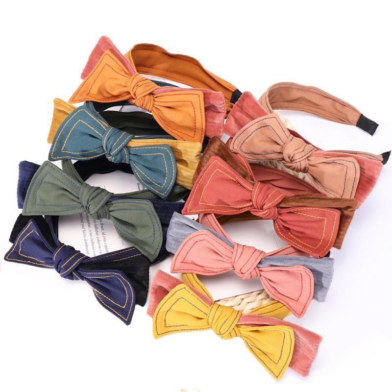 4 knotbow headband for women