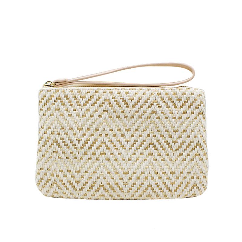 Women Clutch Bags Female INS Popular Summer Beach Straw Bag Lady Travel Mini Messenger Bags Casual Knitted Bolsa Tote SS3133 (5)