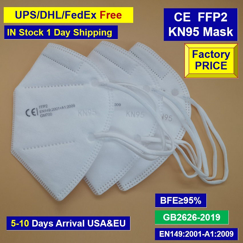 FF P2 EN149:2001 Face Mask With Valid C E Certification Personal Protective Mask EC /425 By Universal Certificate NB2163 DHL Free