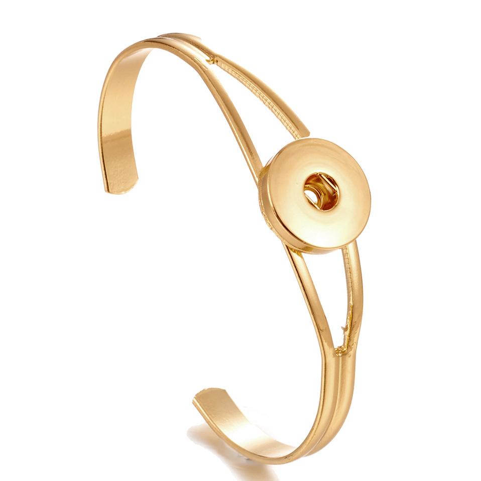 NOOSA Ginger Snap Joyería Brazalete Brazalete Botón a presión DIY Noosa Pulsera Intercambiable VOCHENG Charm Bracelets
