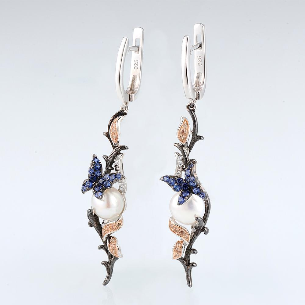 E307634MULSV925-SV2-Silver Earrings