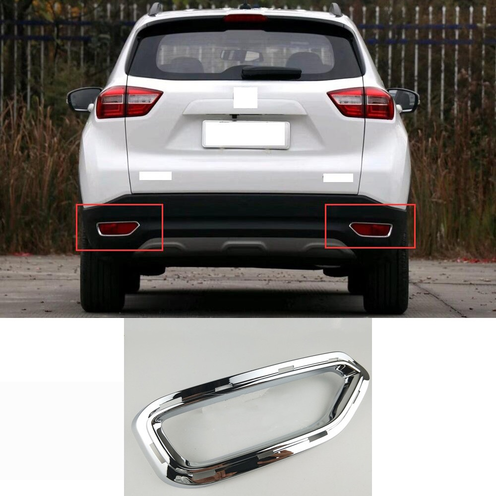 2*Chrome Front Fog light lamp Upper Cover Trim Garnish fits 2011-2017 BMW X3 F25