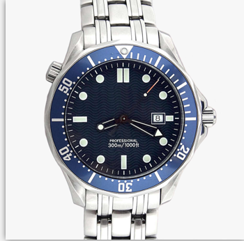 Outdoor Planet Master Ocean Stainless Steel Strap Foldover Clasp 43 MM Automatic Blue Dial Mens Watches Wristwatch Man Watch