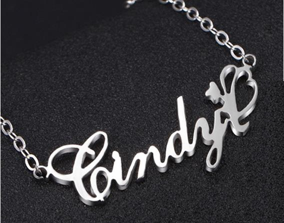 Personalized S925 silver Photo Text Dog Tag Pendant Customized Picture Necklace Valentines Day Birthday Gift for Men Women