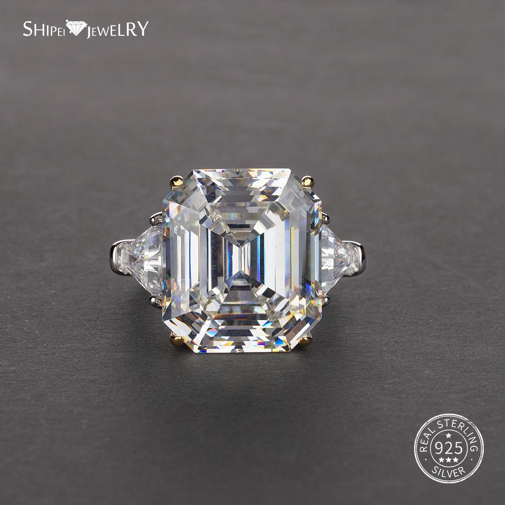Bling Jewelry 6CT Ovale Bleu Royal Zircone Cubique CZ Saphir Simul/ées Halo pour Femme Engagement Bague De Fian/çailles Sterling Argent