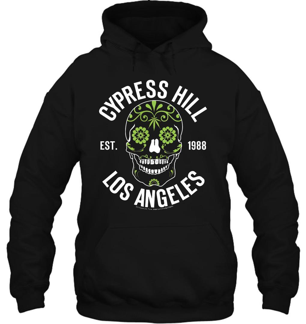 Sugar Skull Big /& Tall 3XL-5XL Men/'s T-Shirt Officially Licensed Cypress Hill