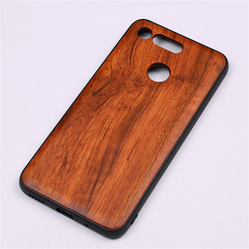 BOOGIC Original Wood Phone Case For Huawei Honor View 20 V20 V10 Wood +TPU Cover For Honor 8x Play 10 Ultra-Thin Wooden Coque (14)