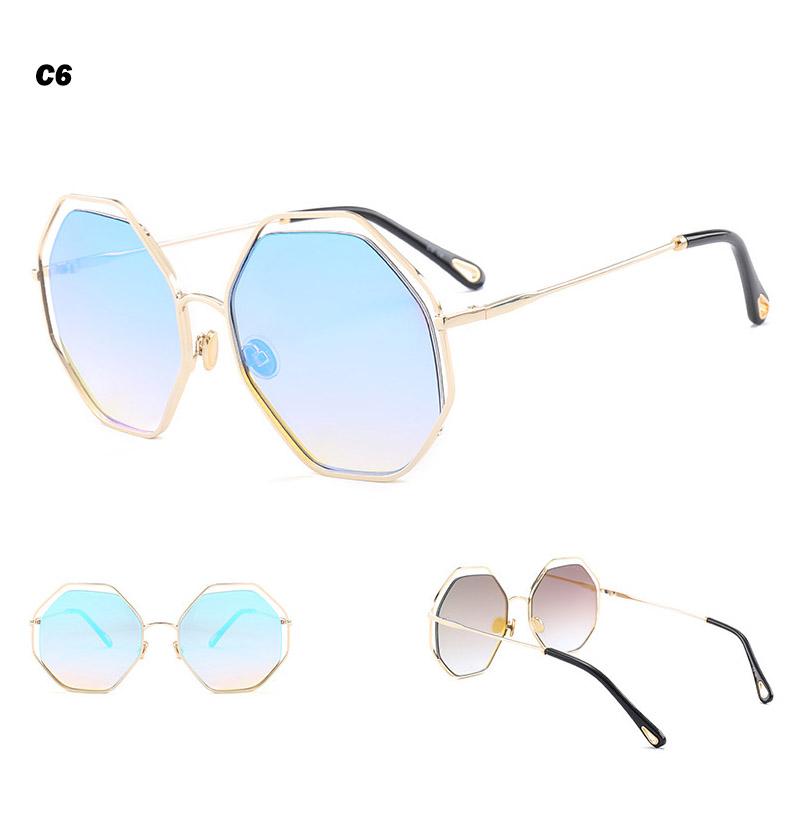 2018 News Goggle Rimless Sunglasses (18)