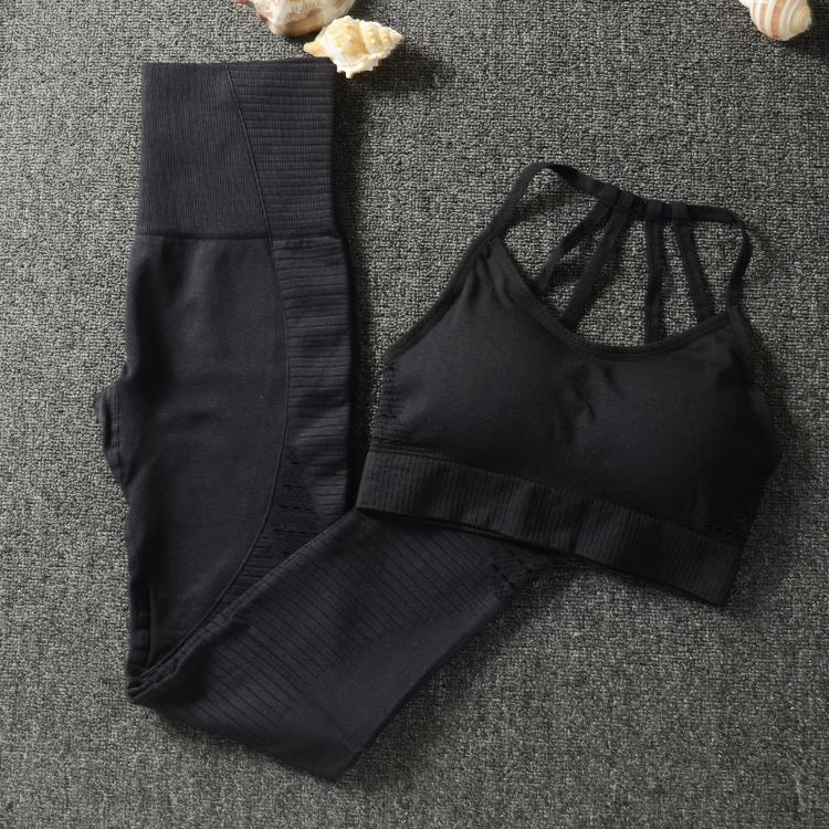 Gym Set Workout Clothes For Women Sports Bra And Leggings Set Sports Wear For Women Gym Clothing Athletic Yoga Set Q190521
