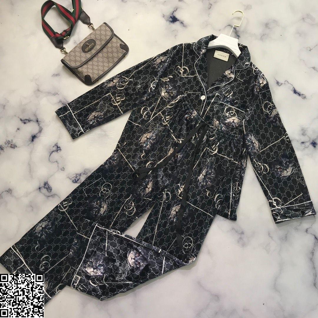 Herbst und Winter Damen Flanell Pyjamas Set Verdickung Langarm Hause Kleidung