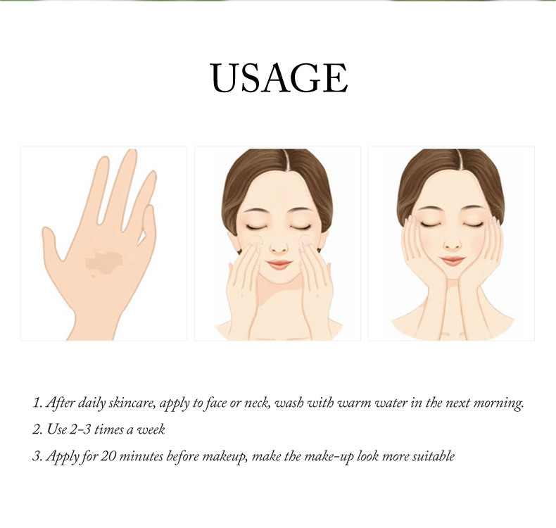 LAIKOU Cosmetic Moisturizing Repairing Brightening Face Sleeping Mask