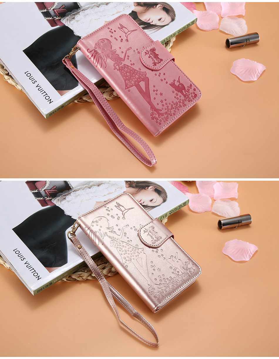 Leather Wallet Case For iPhone 7 6 6S Plus 5 5S SE Phone Cases (11)