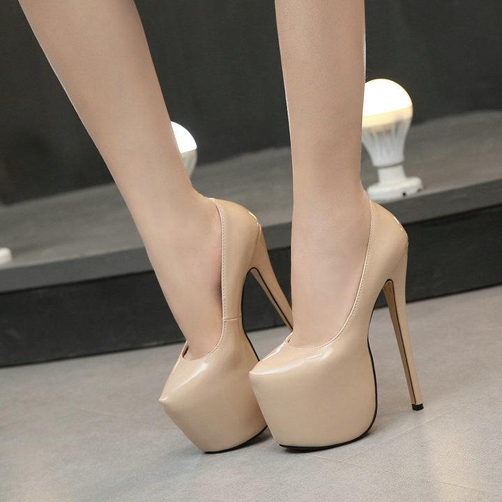Fashion-beautiful-women-shoes-high-heel-18-cm-red-bottoms-waterproof-ultra-heels-with-soles-women