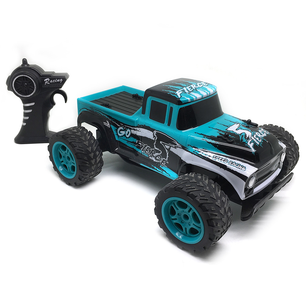 Electric 1/14 Scale 2.4G Remote Control Speed Racing Truck RTF Carros De Controle Remoto 4x4 Kids Toys Rc Crawler