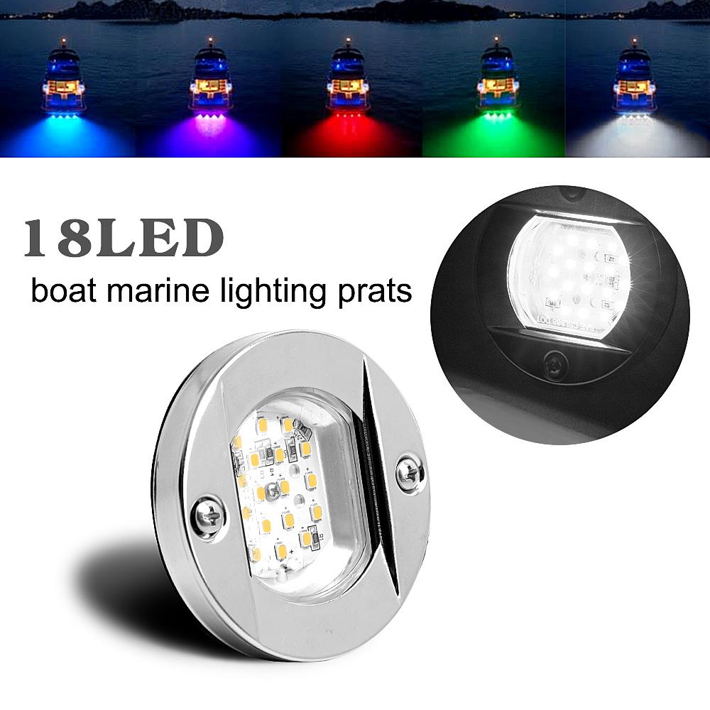 2PCS 12V-24V Night Fishing Boat Underwater 180LED Lights Attractor Accessories