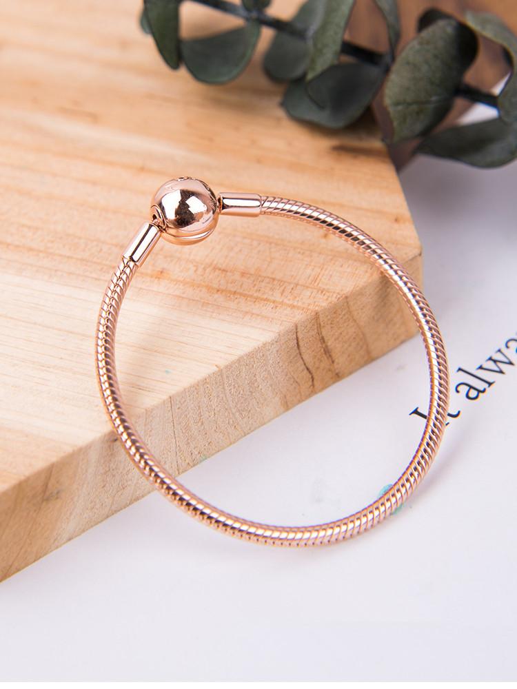 braccialetti donna pandora originale oro