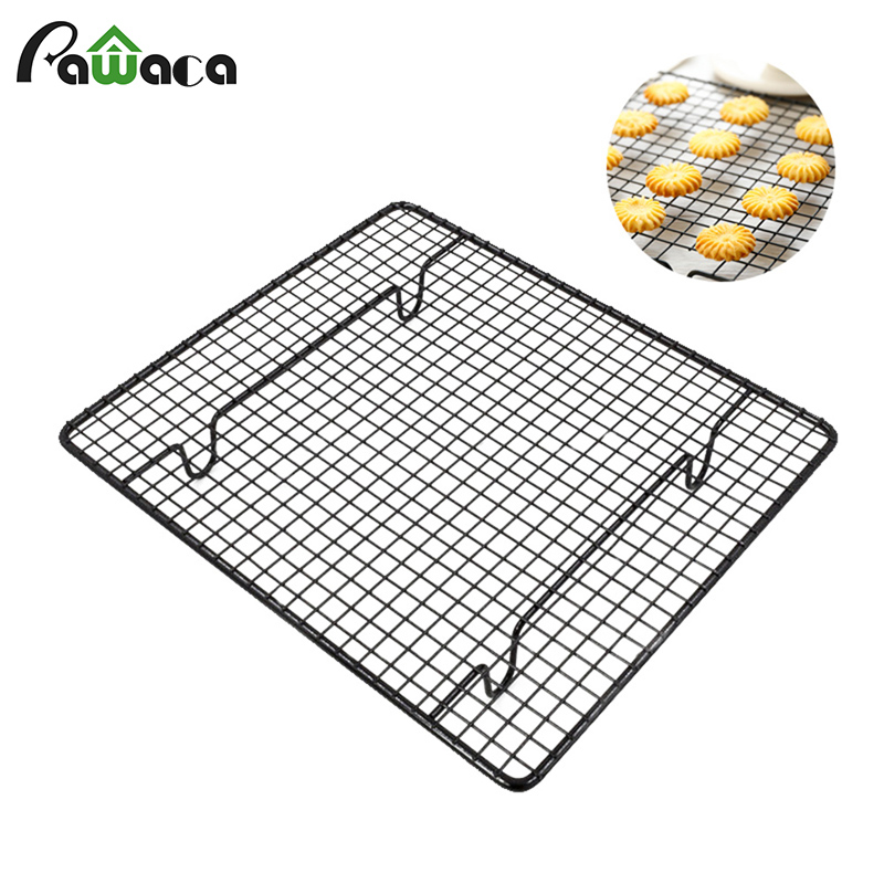 1pc Non-stick Cake Cooling Rack Net Cookies Bread Drying Stand Cooler Hol UULK