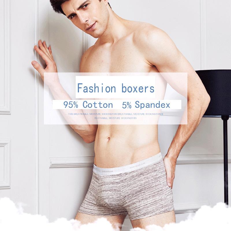 Bierdan L-5xl Brand Pouch Boxer Shorts Mens Comfortable Men's Boxershorts Cotton Sexy Male Underwear Cueca 24type Q190425