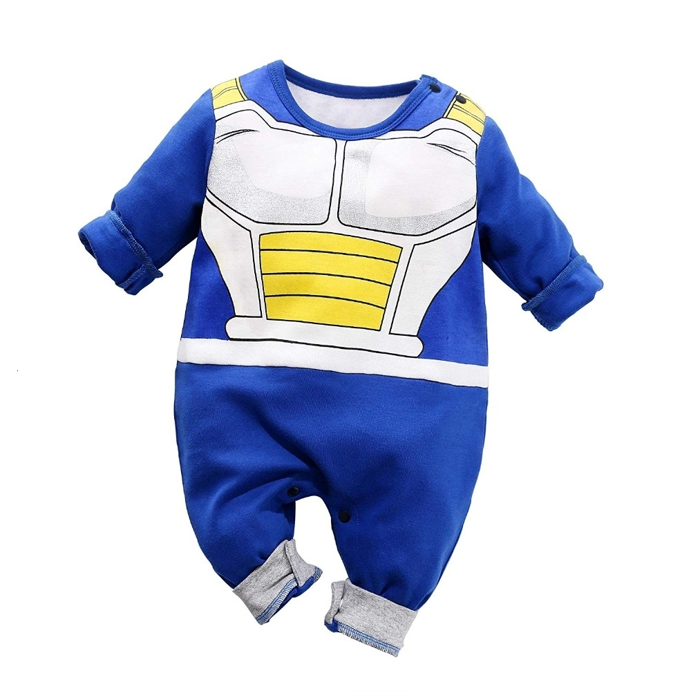 Newborn Wukong Jumpsuits Baby Lovely Long Sleeve Cartoon Romper Baby Clothes