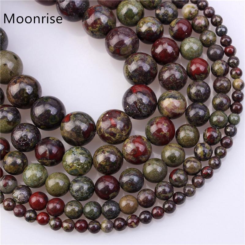 Brillante redondo de piedras preciosas de Ágata Onyx suelta perlas 4MM 6MM 8MM 10MM 12MM 14MM