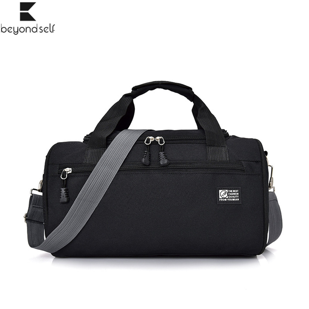 Ybriefbag Unisex Short Trip Package Female Hand Bag Large Capacity Cylinder Yoga Bag Business Travel Package Vacation