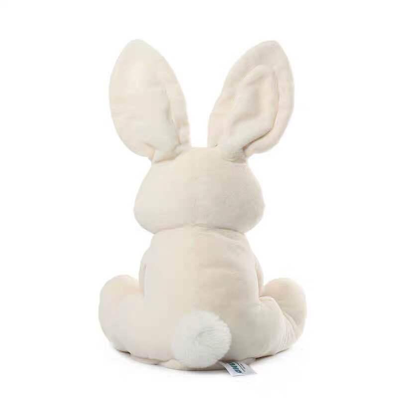 Shy Rabbit Phenanthrene Than Meeting Sing Cover Ears Music Leveret Motor-driven Lint Cute Toys American Girl Dolls Plush