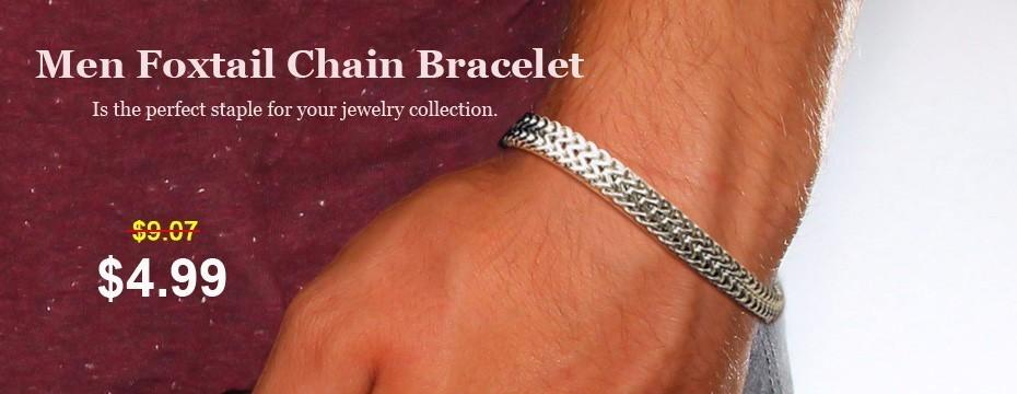 Foxtail Chain Bracelet (2)