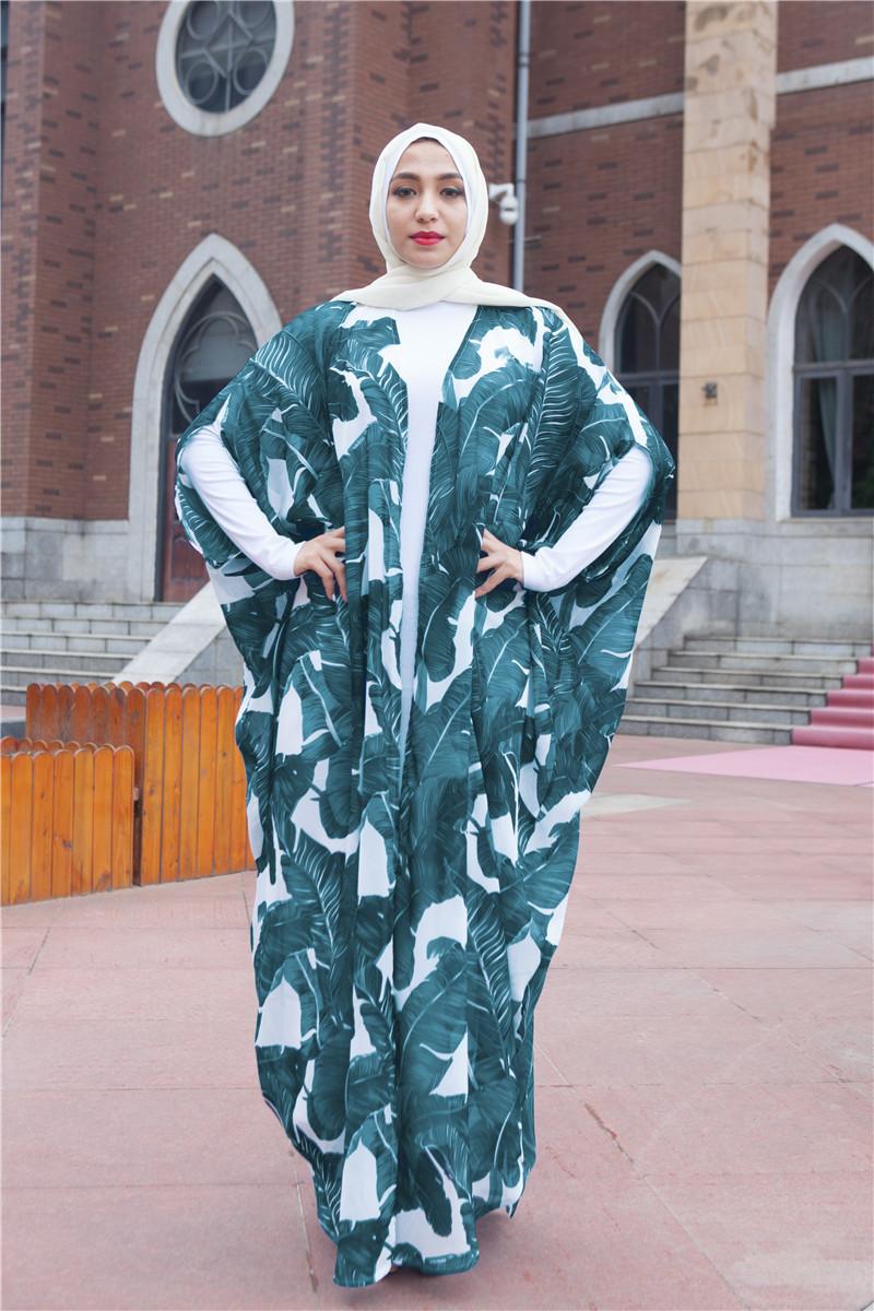 muslim dress women printed butterfly islamic clothing bangladesh turkish hijab islamic ramadan islamic dress turkish dress