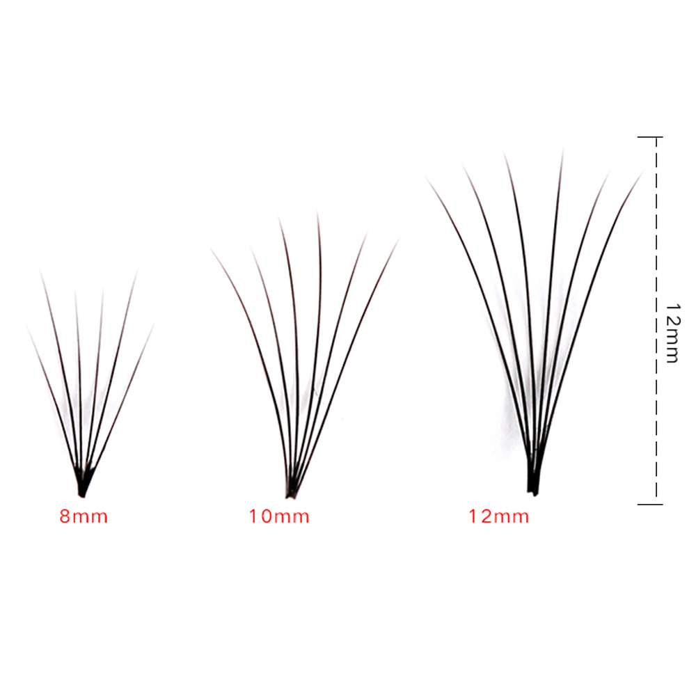 Women Soft 0.07 C 6d Wave Individual Eyelashes Silk False Eye Lashes Extension Mink Black Tools