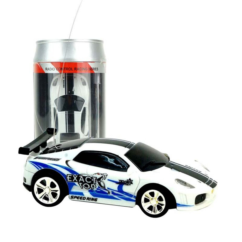 2010b 1/58Coke Can Mini Car RC Cars Collection Radio Controlled Cars Machines JST Plug Remote Control Toys For Boys Kids Gifts