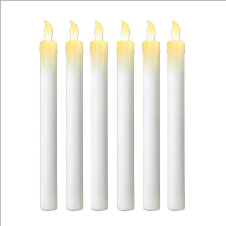 14 Pièces Bougie DEL Set Batterie au-dessus de la moyenne Pilier Blanc votive Décoration Flamme-moins NEUF