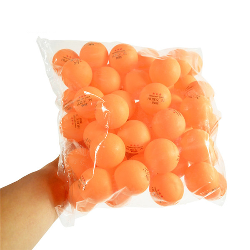 Huieson 100 Pcs 3-Star 40mm 2.8g Table Tennis Balls Ping Pong Balls for Match New Material ABS Plastic Table Training Balls (5)