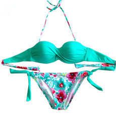 push up bikini set