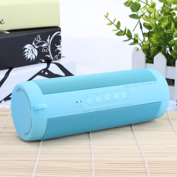 Original T2 Bluetooth Speaker Waterproof Portable Outdoor Wireless Mini Column Box Speaker Support TF card FM Stereo Hi-Fi Boxes