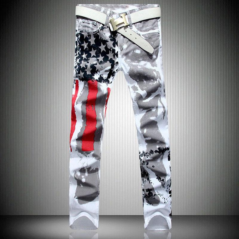 Distribuidores De Descuento Pantalones Estampados Con Bandera De Los Ee Uu Pantalones Estampados Con Bandera De Los Ee Uu 2020 En Venta En Dhgate Com