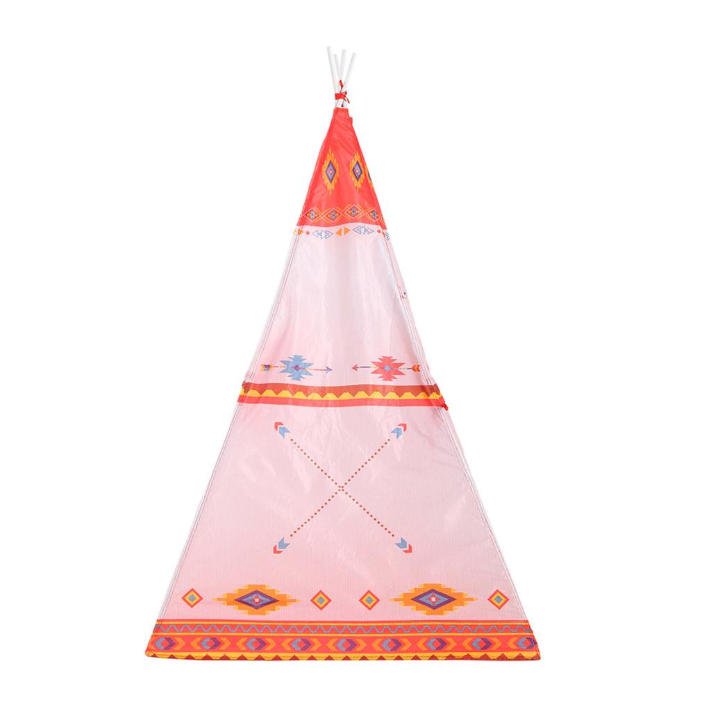 bambini all'ingrosso casa di plastica bambini tenda casette stile indiano pieghevole giocattolo bambini casa yurta gioco casa tipi enfant # y2