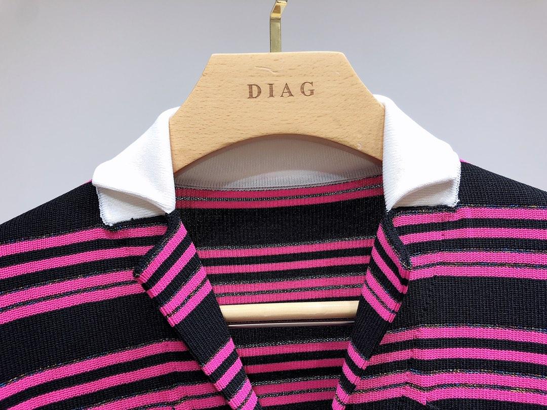 Cardigan tricoté à capuche pour femmes Quatre poches poches Pull rayé tricoté à manches courtes