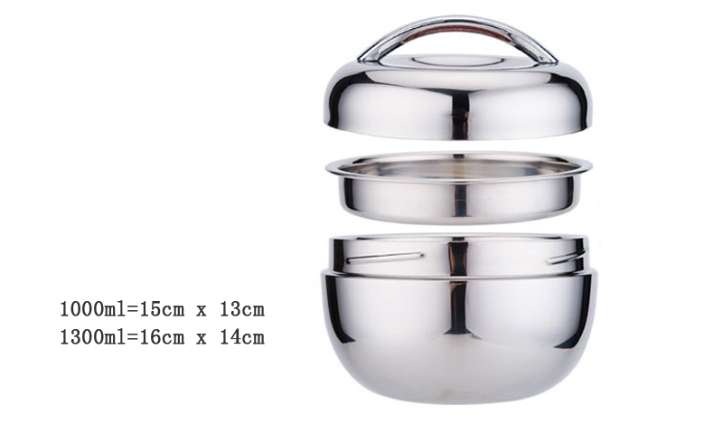 304 Stainless Steel Portable Thermos Insulated Lunch Bento Boxs Japanese Style Travel Kids Food Containers China Dinner Set16