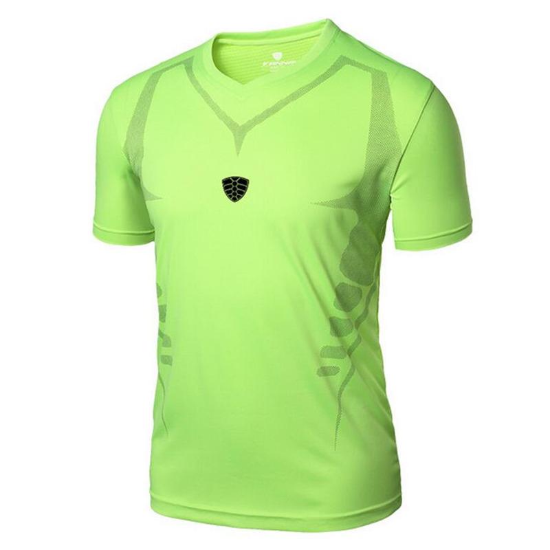Chemises de sport Hommes Sports de plein air Courir Fitness Matin Courir Tennis Badminton respirant T-shirt Homme Randonnée Jogging Tops Tees