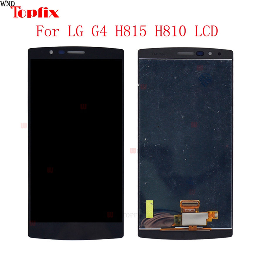 100% Tested 5.5inch LCD For LG G4 H815 H812 LCD Display Touch Screen Digitizer Assembly With Frame Pantalla Replacement Parts (5)