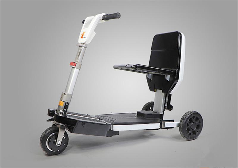 Disability Electric Scooter 3 Wheel Electric Scooter For Elderly Disabled Folding Electric Wheelchair (28)
