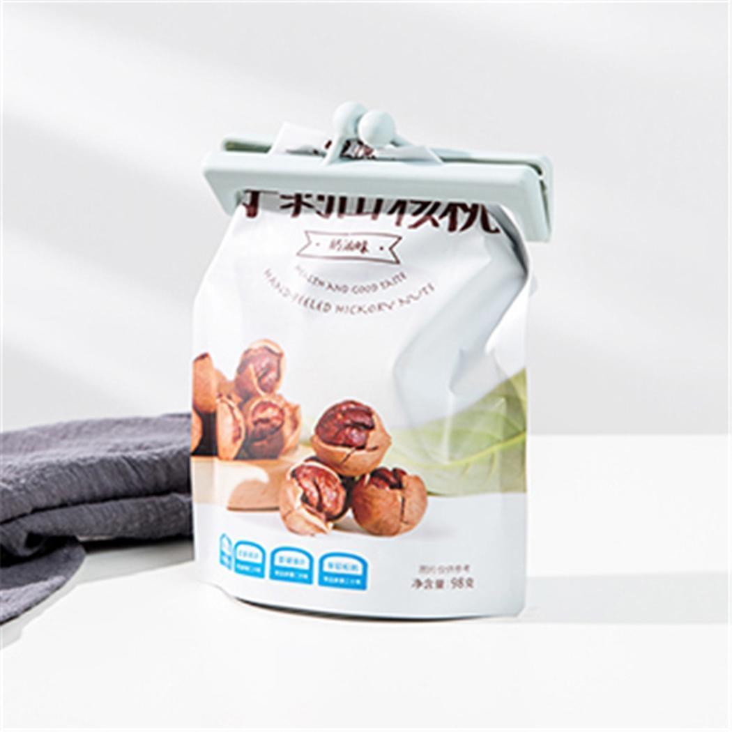 Moda nueva bolsa de alimentos para el hogar Clips de sellado de la cocina Bocadillo de almacenamiento de la abrazadera