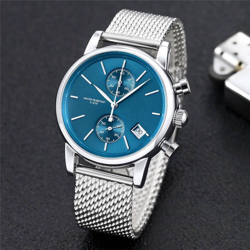 2020 New watch stopwatch sport Watch menes Casual Fashion Skeleton quartz watch free2
