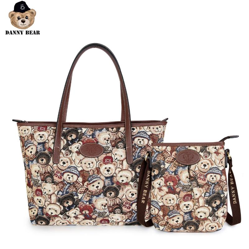 Shop Bags For Women Sophisticated Cute Cartoon Painting Leather Hand Totes Bag Causal Handbags Zipped Shoulder Organizer For Lady Girls Womens Zip Travel Bags