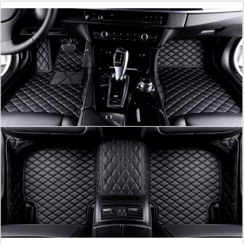 All Weather Floor Mat for 2006-2008 Acura TL 3D Full Protection Car Accessories Black 3 Piece Set