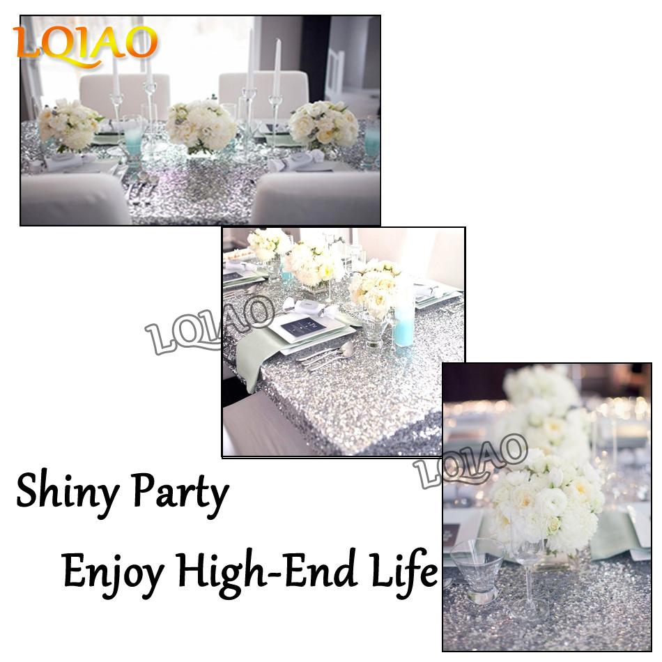 Silver Sequin Tablecloth-001