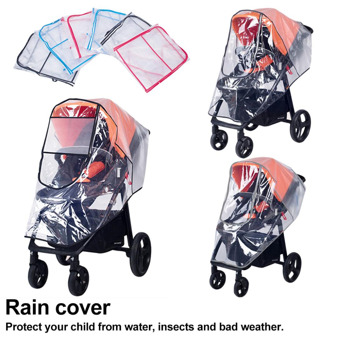Universal Baby Kinderwagen Regenschutz wasserdicht Regenschirm Kinderwagen Wind Staub Shield Cover f/ür Kinderwagen EVA-Material Wetter Buggy f/ür Shield Baby Regen Schutz