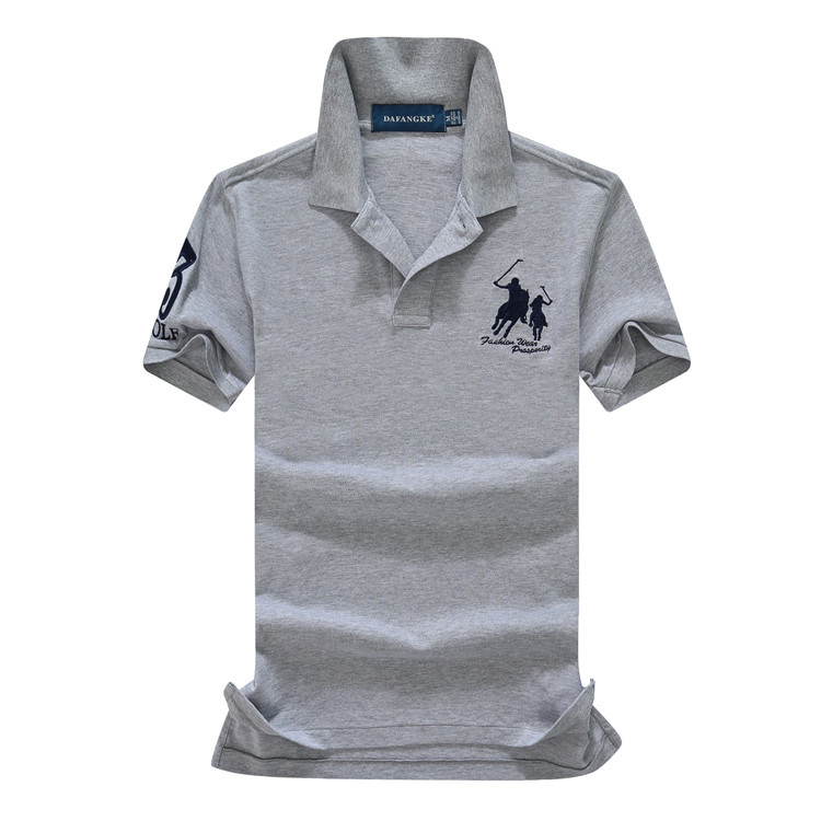 Unisex Classic Polo Shirt with Embroidered Jensen Car Logo