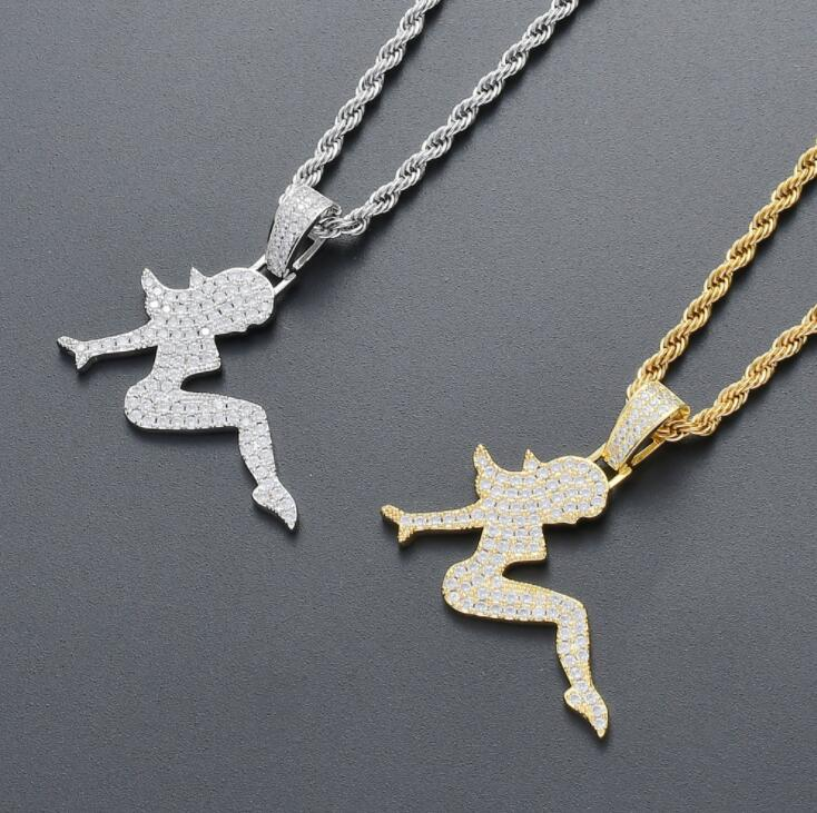 Modogirl Vintage Hip Hop 18k Gold Plated Sea Starfish Pendant Sweater Necklace for Womenfor Women