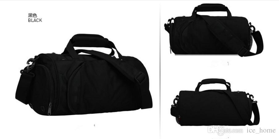 Fashion sports fitness bag for men and women with large capacity shoulder portable travel back